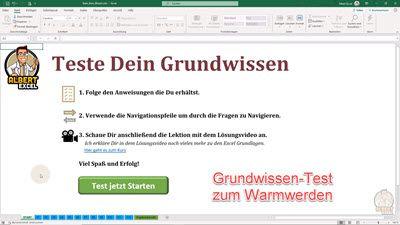 Teste Dein Excel Grundwissen