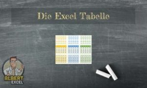Excel Tabelle Anleitung