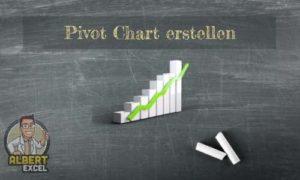 Pivot Chart erstellen Anleitung