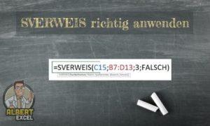 Sverweis Anleitung - Schritt für Schritt