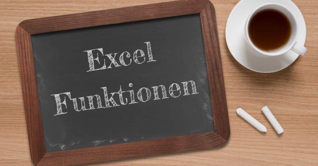 Excel Funktionen Übersicht