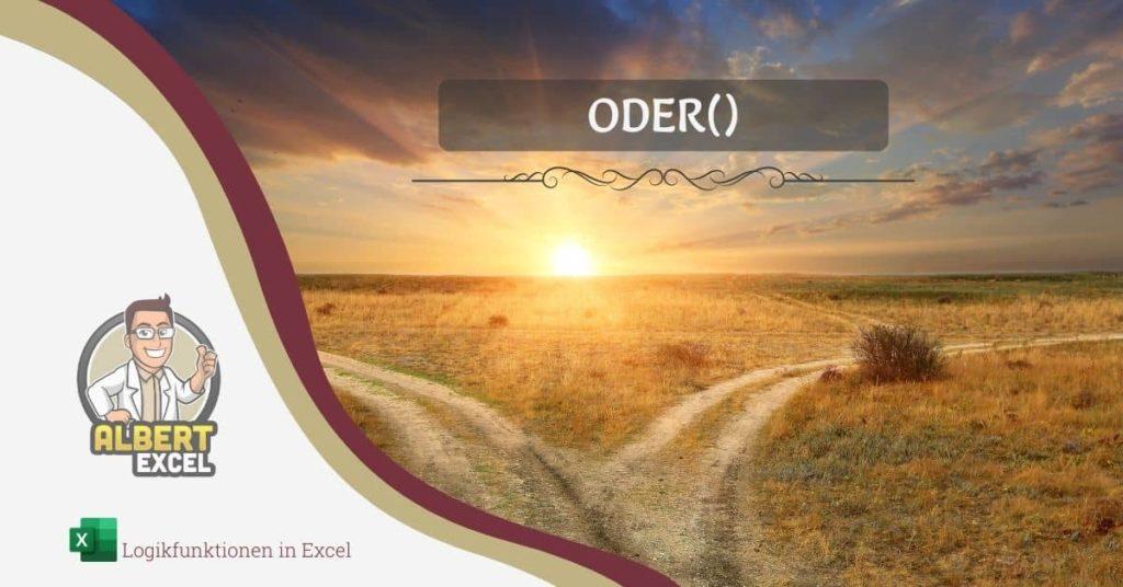 Excel ODER Funktion Titelbild